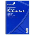 Silvine CARBONLESS DUPE MEMO BOOK 714