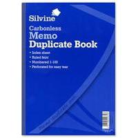 Silvine CARBONLESS DUPE MEMO BOOK 714