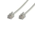 Microconnect RJ12/RJ12 2m White