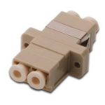 Digitus DN-96008-1 LC 1pc(s) Beige fiber optic adapter