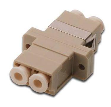 Digitus DN-96008-1 fibre optic adapter LC Beige 1 pc(s)