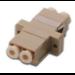 Digitus DN-96008-1 LC 1pc(s) Beige fiber optic adapter