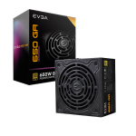 EVGA SuperNOVA 550 GA power supply unit 550 W 24-pin ATX Black