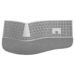 Microsoft Surface Ergonomic Bluetooth Grey keyboard