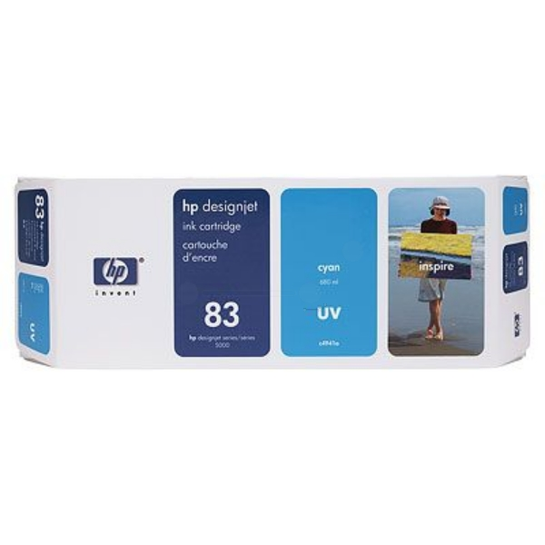 HP C4941A (83) Ink cartridge cyan, 680ml