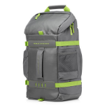 "HP L8J89AA 15.6"" Backpack Green,Grey L8J89AA#ABB"
