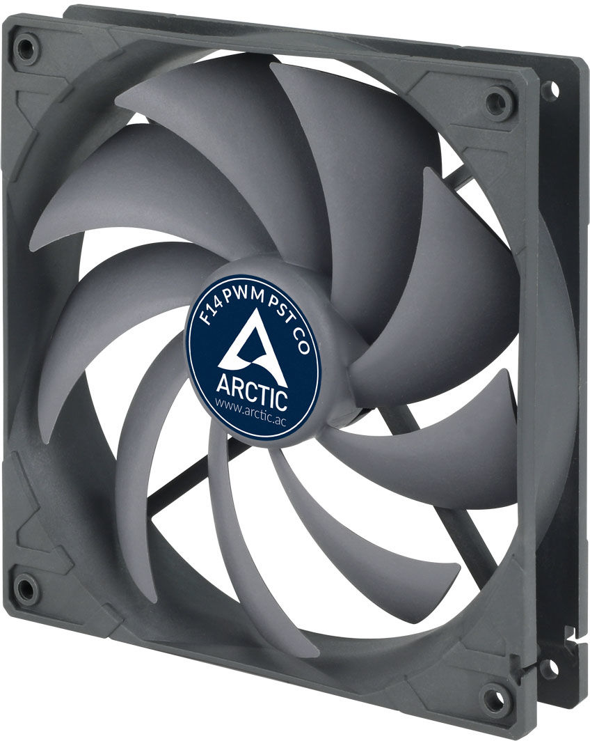 ARCTIC F14 PWM PST CO 140mm PWM with PST Case Fan for Continuous Operation