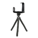 Bracketron TriCaddy Flex Pro Digital/film cameras Black tripod