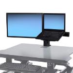Ergotron 97-933-085 flat panel desk mount Black