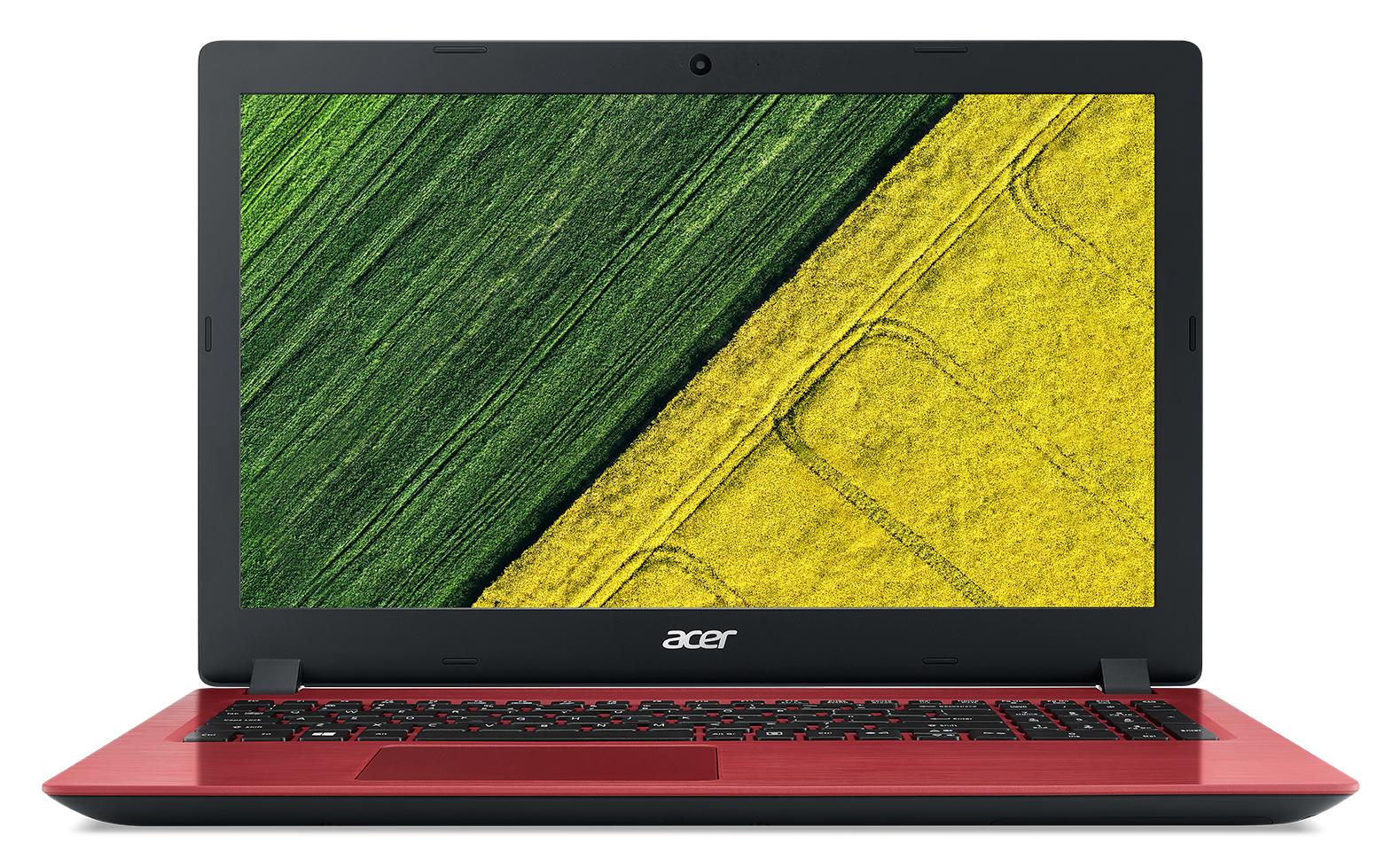 """Acer Aspire A315-51-32Y4 2GHz i3-6006U 15.6"""" 1920 x 1080pixels Black, Red Notebook"""