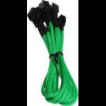 BitFenix BFA-MSC-3F33F60GK-RP cable interface/gender adapter 3-pin 3 x 3-pin Black, Green