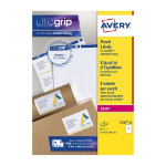 Avery L7167-40 self-adhesive label Rectangle Permanent White 40 pc(s)