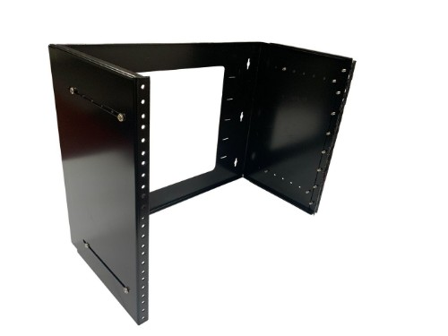 Lanview LVR250708 rack cabinet 8U Wall mounted rack Black