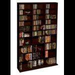 Atlantic Oskar 1080 Wood Media Cabinet optical disc stand MDF Espresso