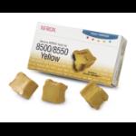 Xerox Genuine Solid Ink 8500/8550 Gelb (3 Sticks)