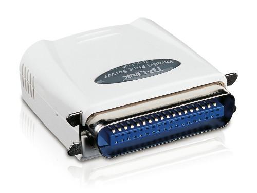 TP-LINK Single Parallel Port Fast Ethernet print server Ethernet LAN
