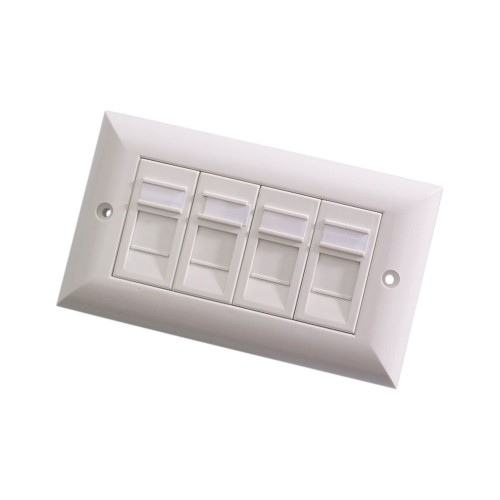 Videk 6228 wall plate/switch cover White