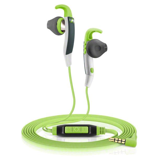 Sennheiser MX 686G SPORTS Auriculares Dentro de oído Negro, Verde