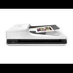 HP Scanjet Pro 2500 f1 Flatbed & ADF scanner 1200 x 1200DPI A4 Negro, Color blanco