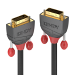 Lindy 36224 DVI cable 5 m DVI-D Black