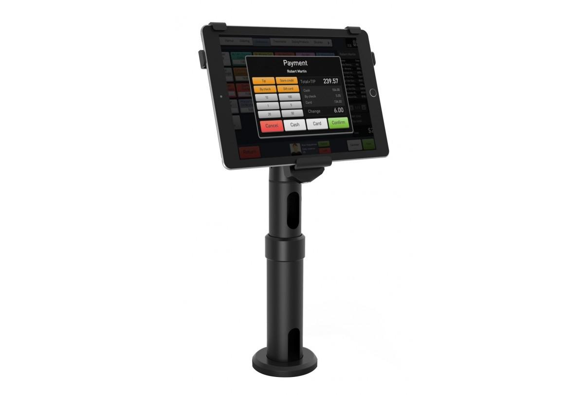 "Compulocks V-Bracket iPad Kiosk - Stand for Apple iPad - lockable - screen size: 9.7"" - counter top"