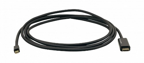 Kramer Electronics C-MDP/HM/UHD-10 video cable adapter 3 m HDMI Type A (Standard) Mini DisplayPort Black
