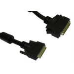 Cables Direct 2m, HPDB50 M/U2CN68 M, SCSI-5 SCSI cable Black External DB50/HPM 68-p