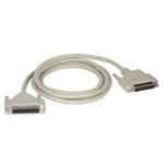 C2G 2m DB25 M/F Cable printer cable Grey