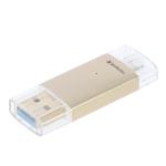 Verbatim Lightning USB 3.0 USB flash drive 32 GB USB Type-A / Lightning 3.2 Gen 1 (3.1 Gen 1) Gold