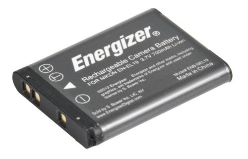Energizer ENB-NEL19 camera/camcorder battery Lithium-Ion (Li-Ion) 700 mAh