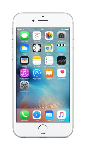 "Apple iPhone 6s 11.9 cm (4.7"") 128 GB Single SIM 4G Silver"