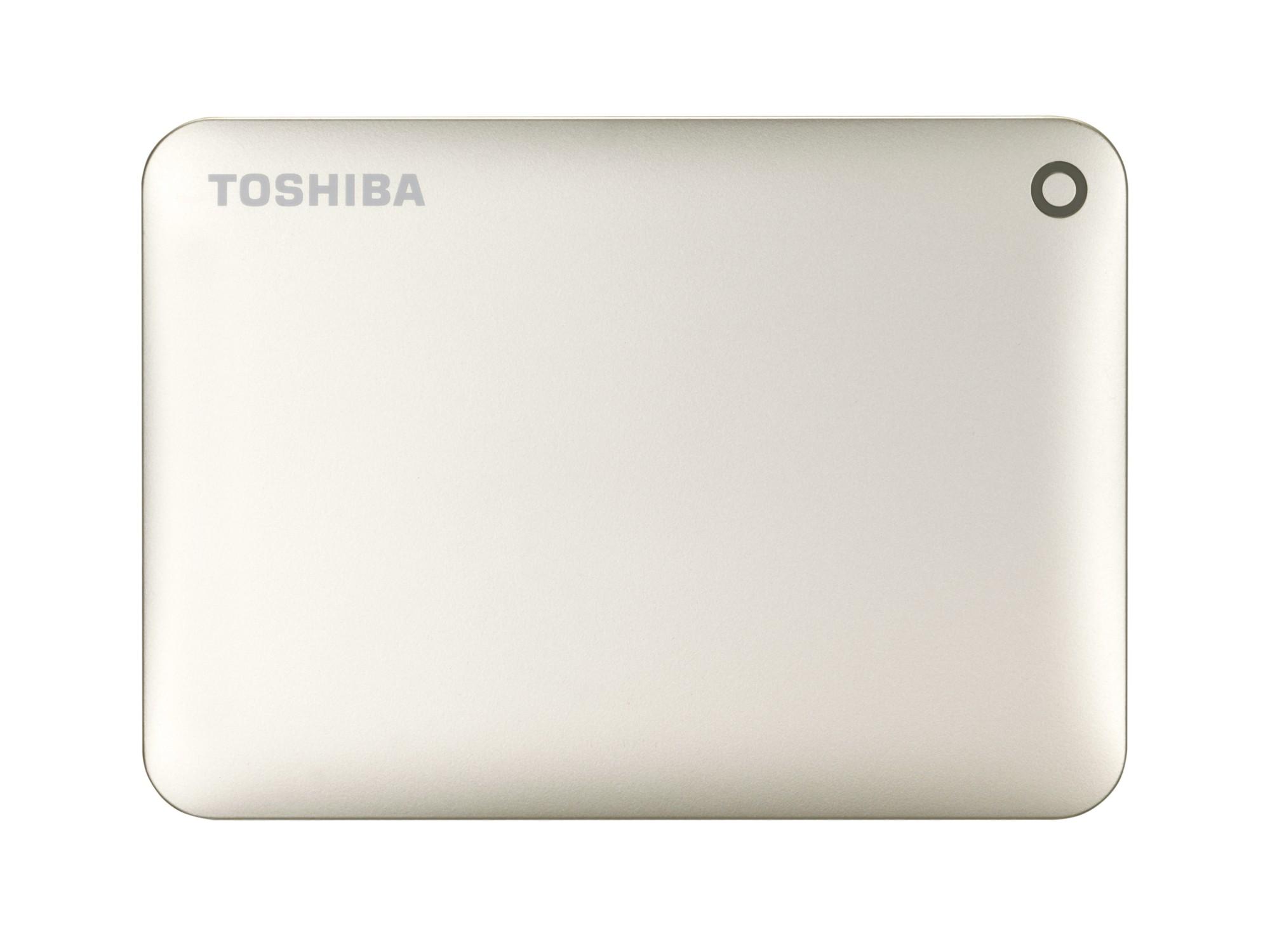 Toshiba Canvio Connect II 1TB 1000GB Gold external hard drive