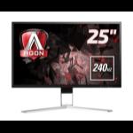 "AOC Gaming AG251FZ computer monitor 62.2 cm (24.5"") 1920 x 1080 pixels Full HD Flat Black,Red"