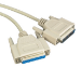 Videk 1066 3m DB-25 DB-25 White serial cable