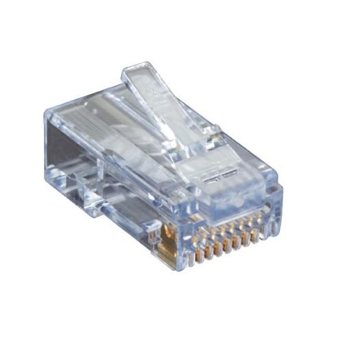Black Box C6EZUP-25PAK wire connector RJ-45 Transparent