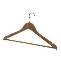 Alba Wooden Coat Hangers Pk25