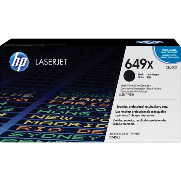 HP CE260X (649X) Toner black, 17K pages