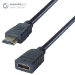 CONNEkT Gear 3m HDMI V2.0 4K UHD Extension Cable - Male to Female Gold Connectors