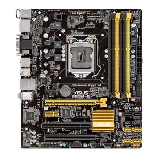ASUS B85M-E (C2) Intel B85 1150 Micro ATX 4 DDR3 CrossFire USB3 HDMI