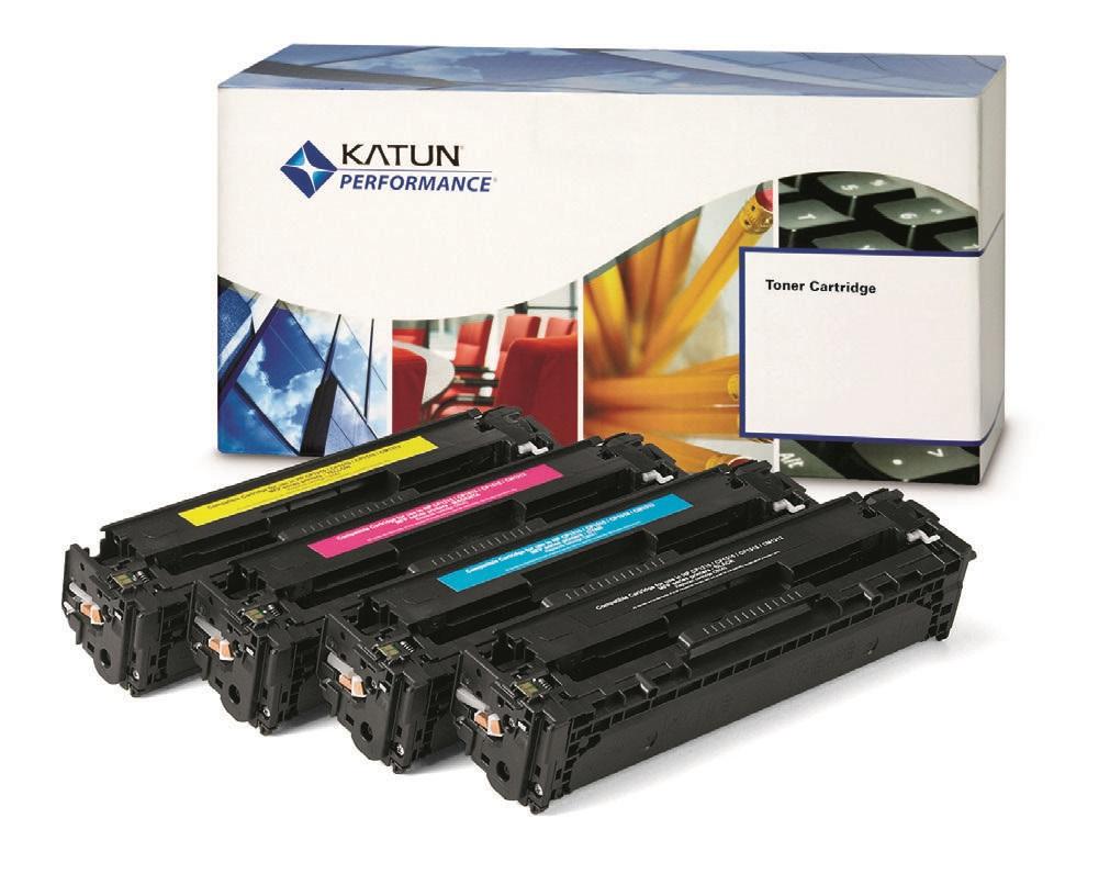 Katun 039092 compatible Toner yellow (replaces Sharp MX27GTYA)