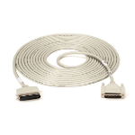 "Black Box BC00205 serial cable White 299.2"" (7.6 m) Centronics DB25"