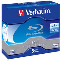 Verbatim 43715 blank Blu-Ray disc BD-R 25 GB 5 pc(s)