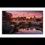 "Samsung QB55R Digital signage flat panel 138.7 cm (54.6"") LED 4K Ultra HD Black Built-in processor Tizen 4.0"