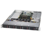 Supermicro 1018R-WC0R Intel® C612 LGA 2011 (Socket R) Rack (1U) Black,Silver