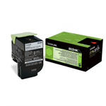 Lexmark 80C2HKE (802HK) Toner black, 4K pages