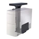 Newstar Slidable Under Desk PC Mount (Suitable PC Dimensions - Height: 39-54 cm / Width: 13-23 cm) - Black