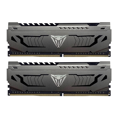 PATRIOT MEMORY VIPER STEEL SERIES DDR4 32GB (2 X 16GB) 3000MHZ KIT W/GUNMETAL GREY HEATSHIELD