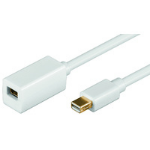 Microconnect MDPMDPF1 1m Mini Displayport Mini Displayport White DisplayPort cable