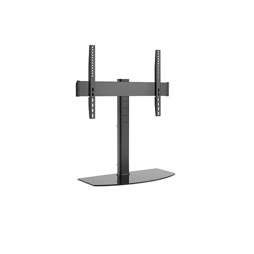 "Techlink TTM601 65"" Fixed flat panel floor stand Black"