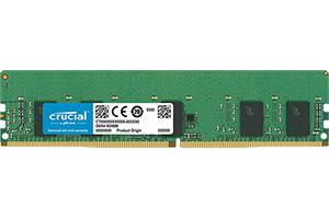 Crucial CT8G4RFS8293 memory module 8 GB DDR4 2933 MHz ECC